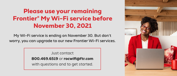 Frontier High-Speed Wireless Internet